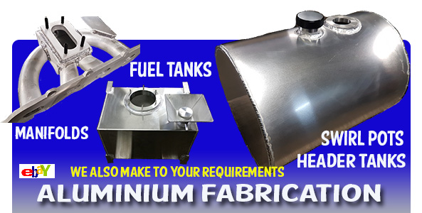 aluminium fabrication fuel tanks, sumps, manifolds