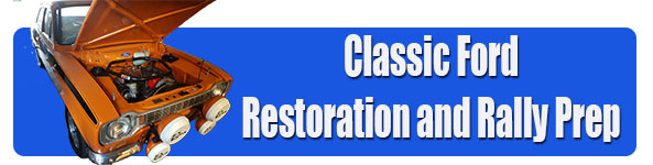 classic ford car restorations